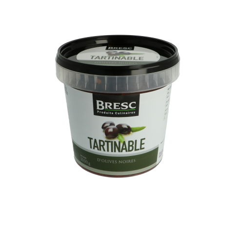 Tartinable d'Olives Noires 1000 g.
