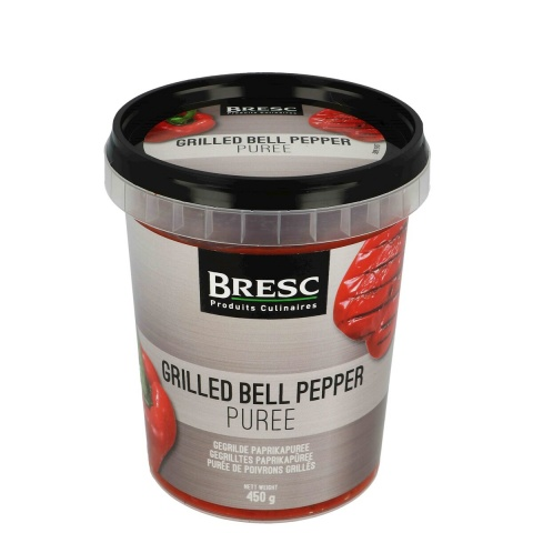 Grilled bell pepper puree 450g